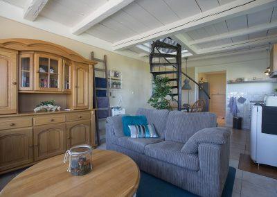 Vakantiehuisje Smoek is knus ingericht en van alle gemakken voorzien.