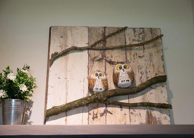 Vakantiehuisje Smoek Holwerd is smaakvol ingericht met oog voor detail.