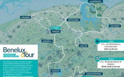 De Benelux Tour komt maandag 30 augustus langs Vakantiehuisje Smoek